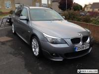 BMW 520d M SPORT TOURING LCI UPGRADE. MANUAL GREY