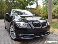 2011 BMW 3-Series 335i 2 door convertible sport