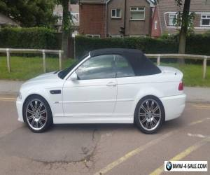 BMW M3 CONVERTIBLE SMG for Sale