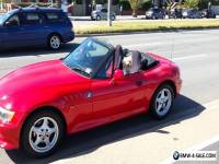 BMW 1997 Z3 Roadster Coup Convertable Red