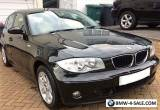 BMW 116i SE 5DR MANUAL 2004 BLACK 94K MILES VERY GOOD CONDITION for Sale
