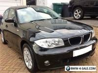 BMW 116i SE 5DR MANUAL 2004 BLACK 94K MILES VERY GOOD CONDITION