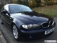 2002* BMW 320 DIESEL 4 DOOR SALOON