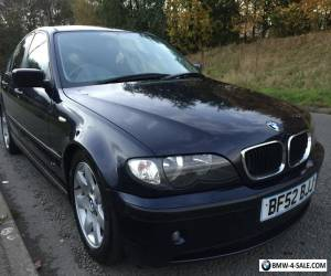 2002* BMW 320 DIESEL 4 DOOR SALOON for Sale