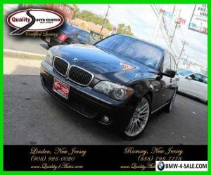 2008 BMW 7-Series 750 for Sale