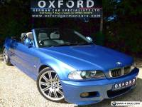 SUPERB BMW M3 CONVERTIBLE, INDIVIDUAL ESTORIL BLUE + CHAMPAGNE LEATHER, 72K, FSH