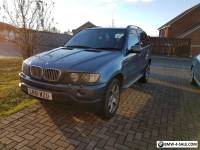 BMW X5 4.4 Petrol 2001 Grey Automatic Black leather