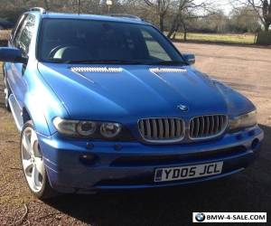 2005 BMW X5 4.4 Sport Auto 5dr with LPG gas conversion for Sale