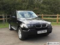 2006 BMW X3 2.0D SE MANUAL DIESEL 4X4 BLACK LEATHER SEATS,M SPORT,