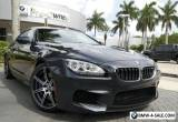2014 BMW M6 Full Merino Leather for Sale