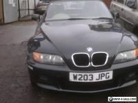 2000 BMW Z3 GREEN