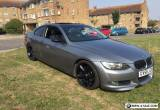 BMW 335i FSH - WATER PUMP DONE twin turbo rare manual for Sale