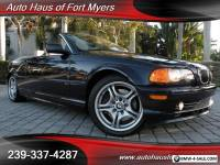 2001 BMW 3-Series 330Ci Convertible Ft Myers FL