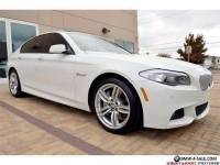 2012 BMW 5-Series 550i M Sport Convenience Cold Weather PremiumSound