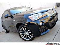 2015 BMW X3 xDrive28i M Sport Premium Technology DAP CWP