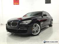 "2012 BMW 7-Series 750Li M SPORT! LUXURY SEATING! 20"" M WHEELS!"