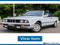 1990 BMW 3-Series Base Convertible 2-Door