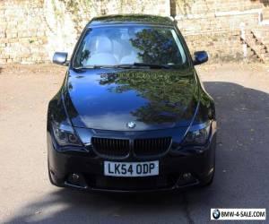 BMW 6 Series 645ci Rare Manual V8 Black 71k (E63/E64) for Sale
