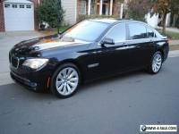 2011 BMW 7-Series ActiveHybrid Sedan 4-Door