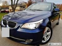 2008 BMW 5-Series Base Sedan 4-Door