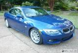 2013 BMW 3-Series Leather for Sale