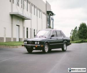 1983 BMW 5-Series E28 528E LOW MILES OUTSTANDING ORIGINAL 2 FL OWNER for Sale