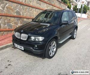 2005 bmw x5 4.8 in spain for Sale
