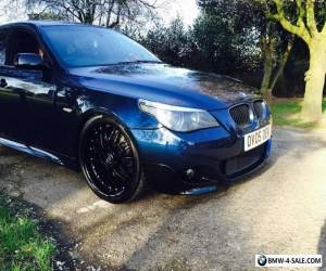 2005 BMW 535d M Sport 5 Series E60 REMAPPED DPF OFF EGR OFF DIESEL TWIN TURBO for Sale