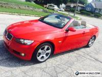 2007 BMW 3-Series Base Convertible 2-Door