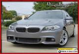 2013 BMW 5-Series M Sports Pkg NavigationPremiumBack-Up Camera for Sale