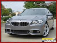2013 BMW 5-Series M Sports Pkg NavigationPremiumBack-Up Camera