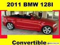 2011 BMW 1-Series Convertible 2-Door