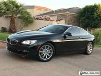 2013 BMW 6-Series Sport Coupe 2 door