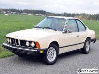 1980 BMW 6-Series 633CSI