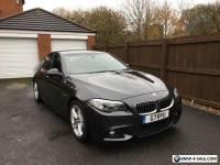 BMW 530d M-Sport (268Bhp) Twin Turbo Sophistio Grey Metalic Big Spec