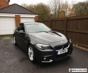 BMW 530d M-Sport (268Bhp) Twin Turbo Sophistio Grey Metalic Big Spec for Sale