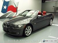 2007 BMW 3-Series 335I CONVERTIBLE TURBO AUTO HTD LEATHER