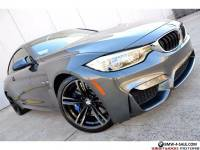 2015 BMW M4 Coupe MSRP $78k Executive Lighting MDCT 19 Wheels