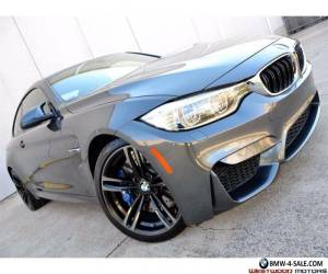 2015 BMW M4 Coupe MSRP $78k Executive Lighting MDCT 19 Wheels  for Sale