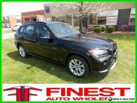 2013 BMW X1 xDrive28i BLACK PANORAMIC ROOF COLD WEATHER PKG