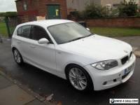 2009 09 BMW 123D M Sport 2.0 Diesel 5 Door Hatchback 156,000 miles 2 keys & Mot
