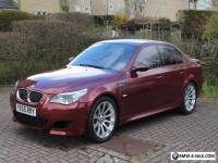BMW M5 2005 V10 SMG E60 INDIANAPOLIS RED - FULL BMW SERVICE HISTORY