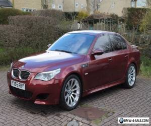 BMW M5 2005 V10 SMG E60 INDIANAPOLIS RED - FULL BMW SERVICE HISTORY for Sale