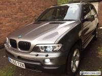 2005 BMW X5 Sport automatic grey