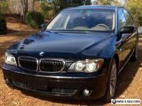 2007 BMW 7-Series Li