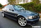 2002 BMW 320Ci AUTOMATIC E46 COUPE. 2.2L, 6 Cyl, Sunroof, Leather. for Sale