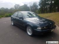 1998 BMW E39 528i Individual Sports - Orinoco, Auto, Style 5s, Black wood trim