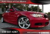 2011 BMW 1-Series 135i Coupe Ft Myers FL for Sale