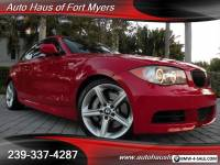 2011 BMW 1-Series 135i Coupe Ft Myers FL