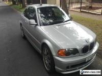 BMW, 325ci, e46, 2 door Coupe, 6cyl, Manual, M3 Wheels, Special factory debaged